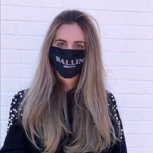 Accessories - Ballin Face Masks Fashion Reusable Unisex Hype